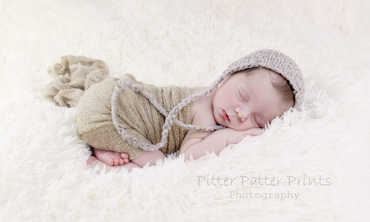Sunshine Coast newborn photography - baby James